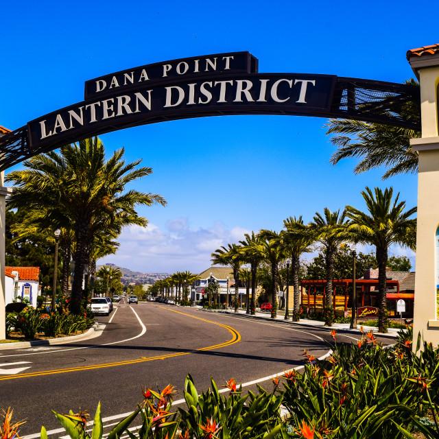 """Dana Point - California"" stock image"