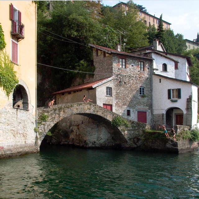 """""""Nesso ponte della Civera"""" stock image"""