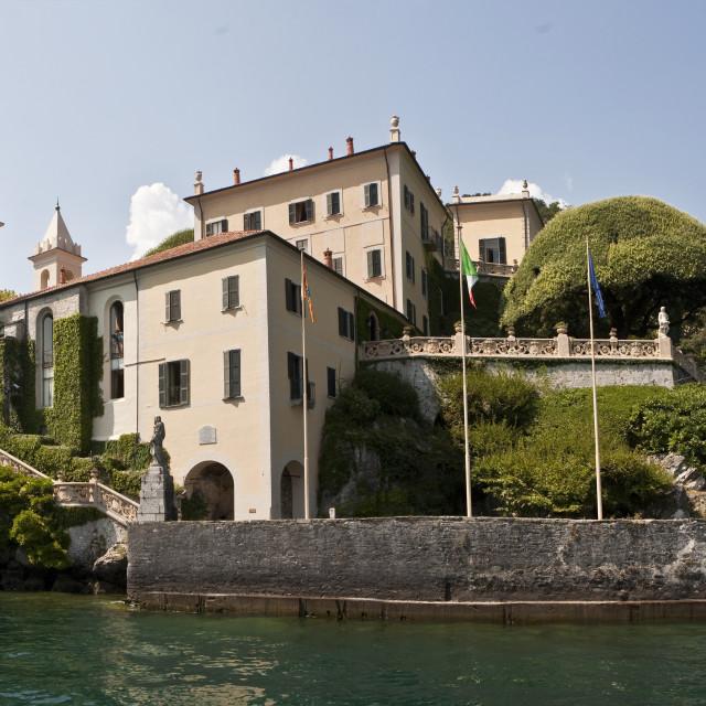 """""""villa Del Balbianello"""" stock image"""