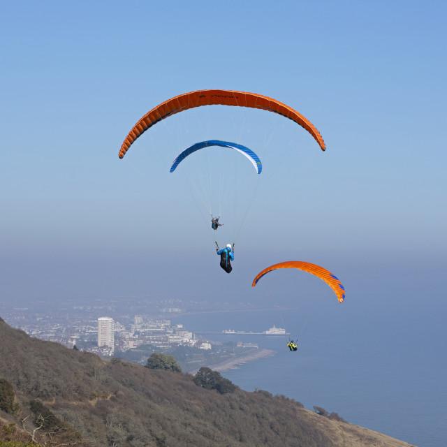 """Hang Gliding 1"" stock image"