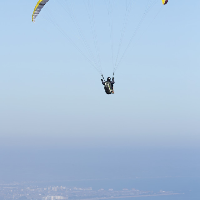 """Hang Gliding 5"" stock image"