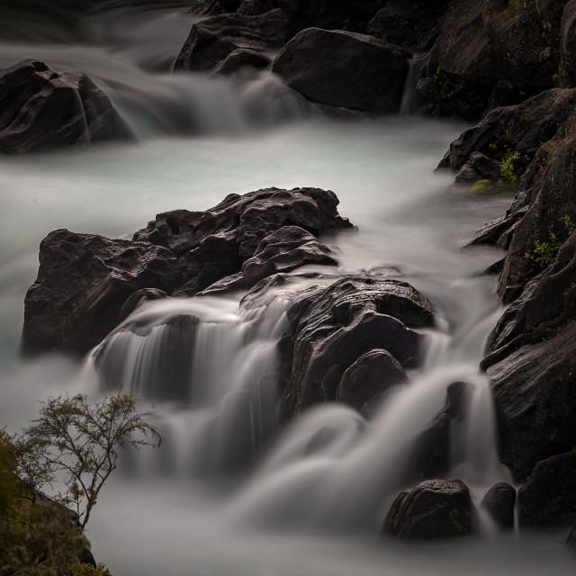 """Aratia Falls 2"" stock image"