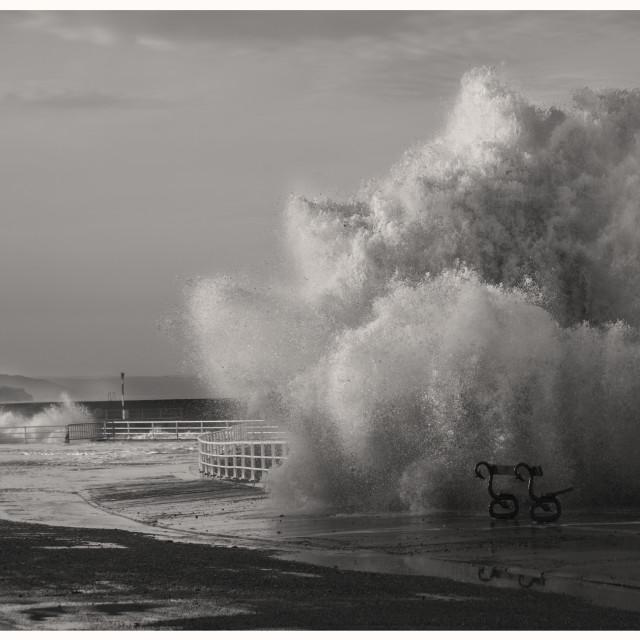 """Aber storm"" stock image"