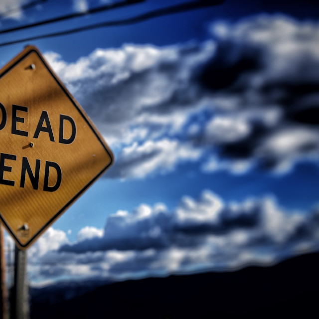 """Dead Ends"" stock image"