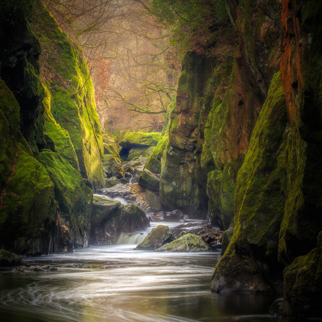 """Fairy Glen"" stock image"