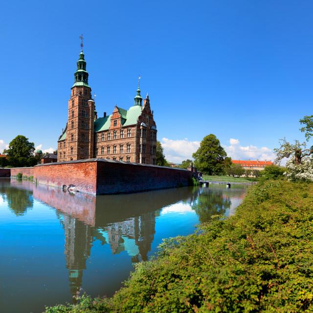 """""""Rosemborg Castle, Copenhagen, Denmark"""" stock image"""