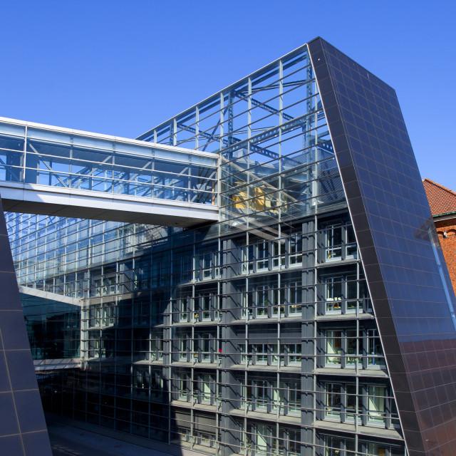 """""""Royal Library, Copenhagen, Denmark"""" stock image"""