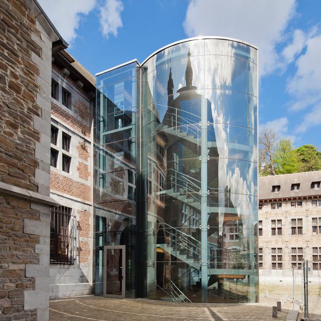 """""""The Musée de la Vie wallonne, Belgium, Liège"""" stock image"""