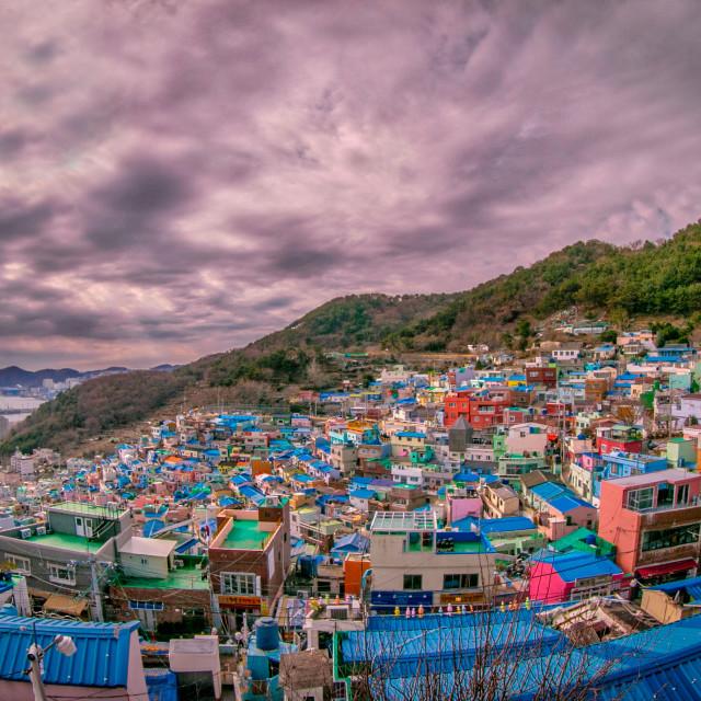 """Gamcheon Culture Village -Busan"" stock image"