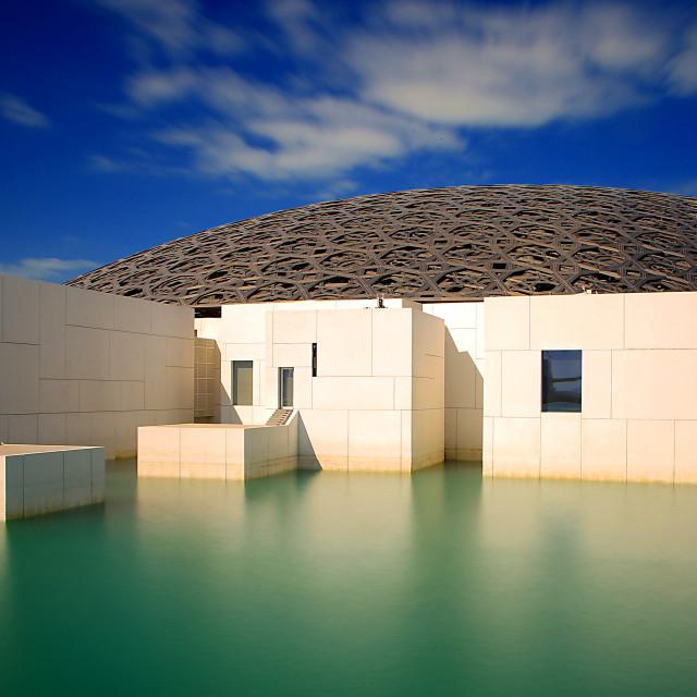 """The Louvre, Abu Dhabi"" stock image"