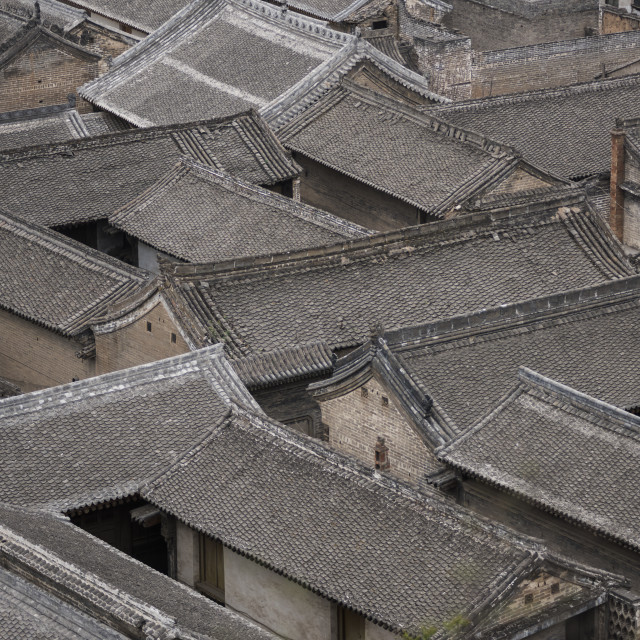 """Dangjiacun Village, Hancheng, Shaanxi Province, China, Asia"" stock image"