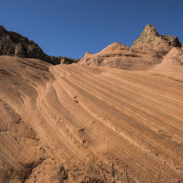 """Bolanggu Canyon, Shaanxi Province, China, Asia"" stock image"