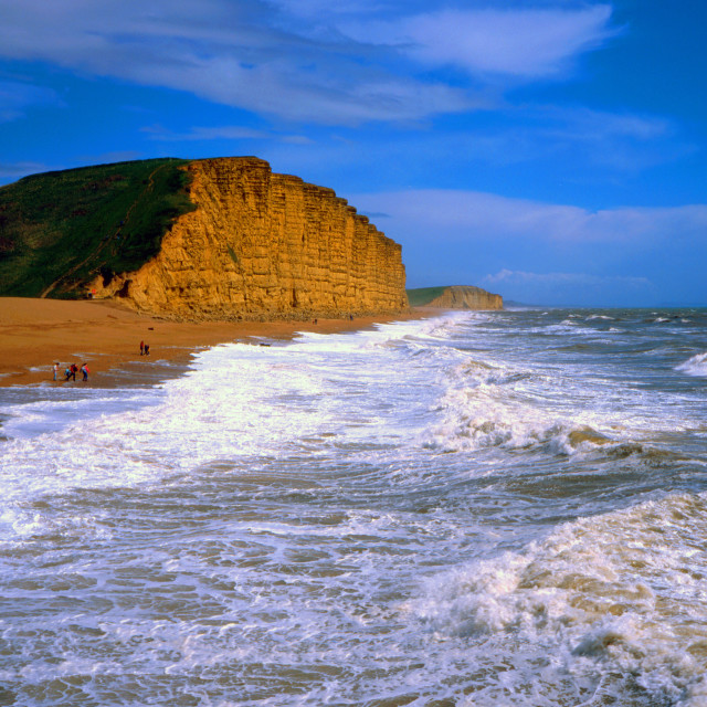 """Surf, West Bay"" stock image"