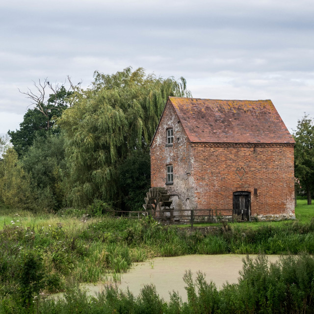"""Old Rural Mill House"" stock image"