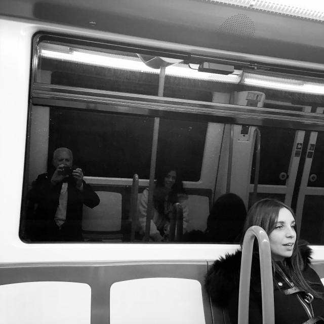 """A passenger"" stock image"