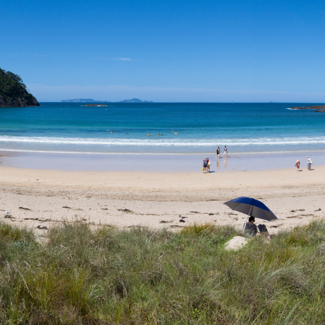 """Matapouri Beach"" stock image"