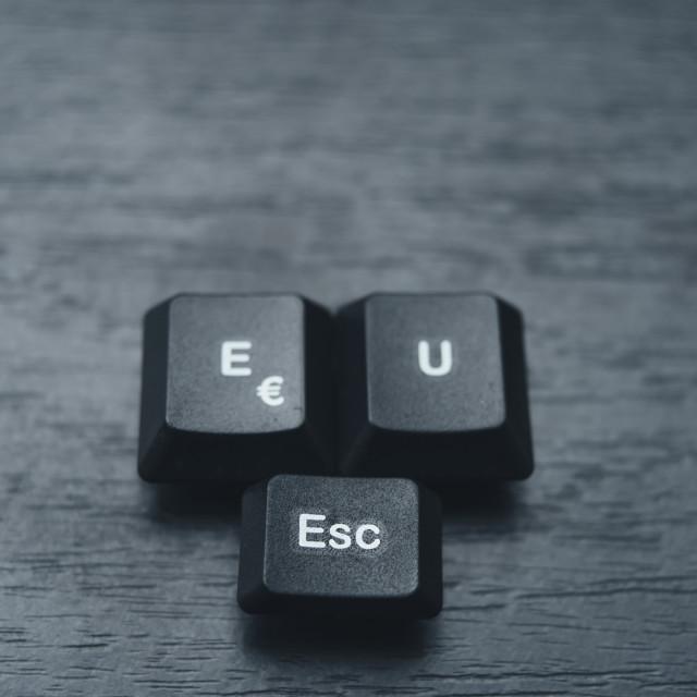 """""""Escape"""" stock image"""