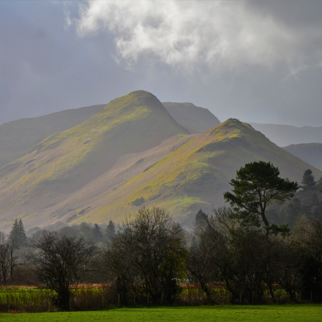 """Highlighting the Fells"" stock image"