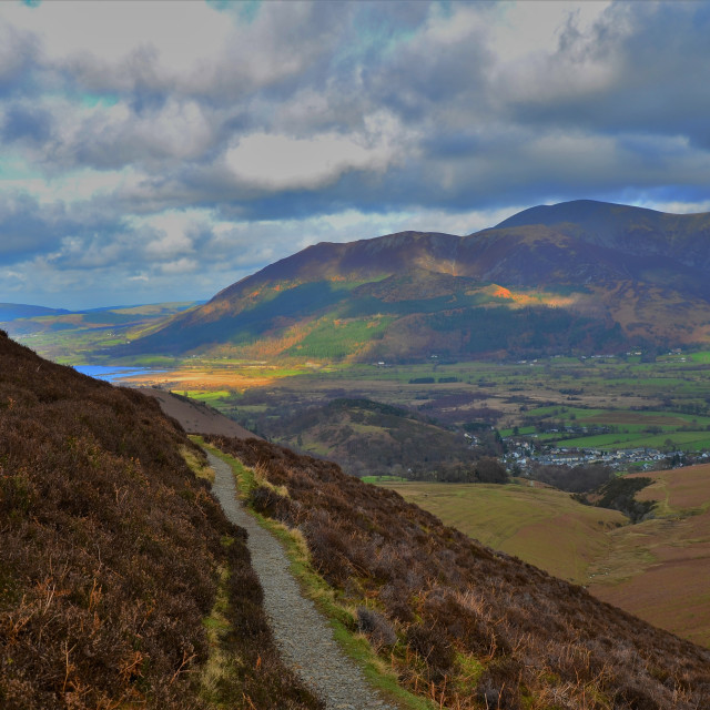 """Path to Basenthwaite"" stock image"