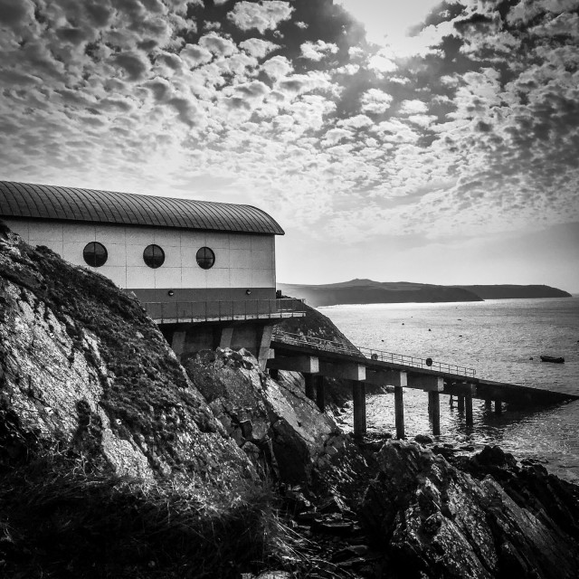 """RNLI Station"" stock image"