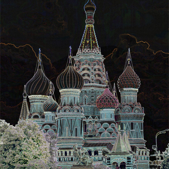 """St.Basil's Cathedral"" stock image"