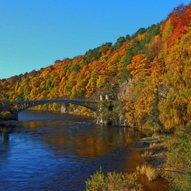 """Autumn at the Craig"" stock image"