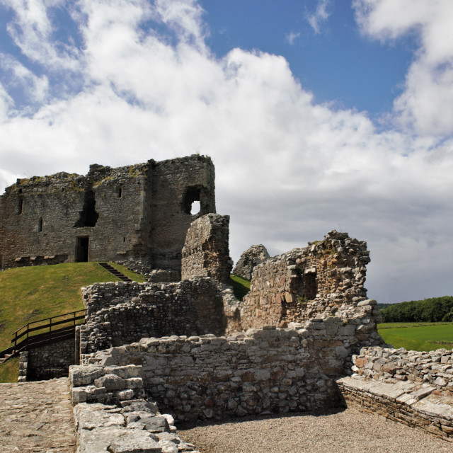 """""""Ruined Castle"""" stock image"""