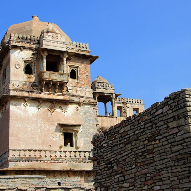 """""""Kumbh Mahal, Chittorgarh"""" stock image"""