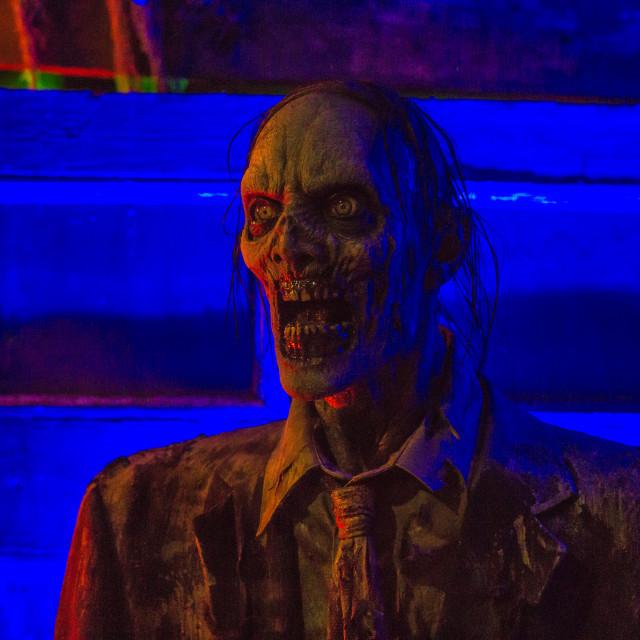 """""""Creepy Zombie 4"""" stock image"""
