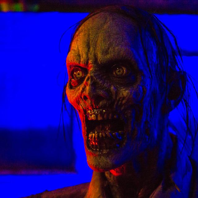 """""""Creepy Zombie 3"""" stock image"""