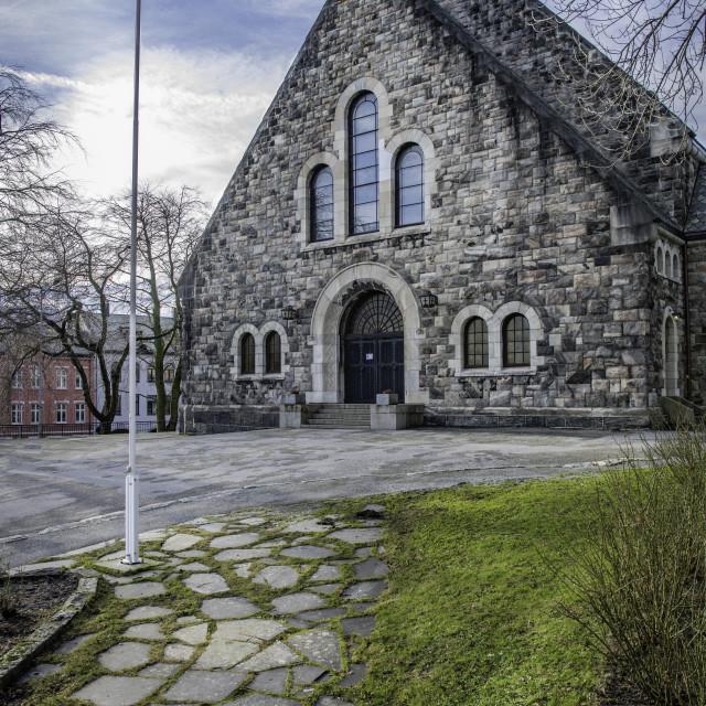 """Alesund Kirke, Alesund, Norway"" stock image"