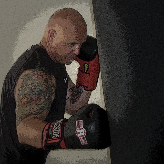 """Portrait of a Boxer"" stock image"