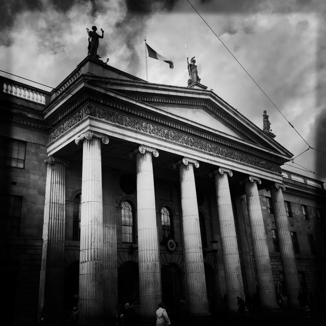 """General Post Office Dublin"" stock image"
