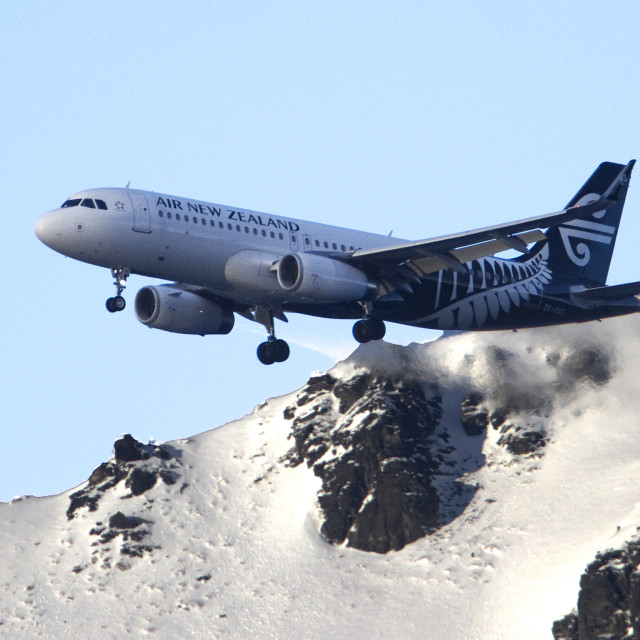 """Air New Zealand"" stock image"