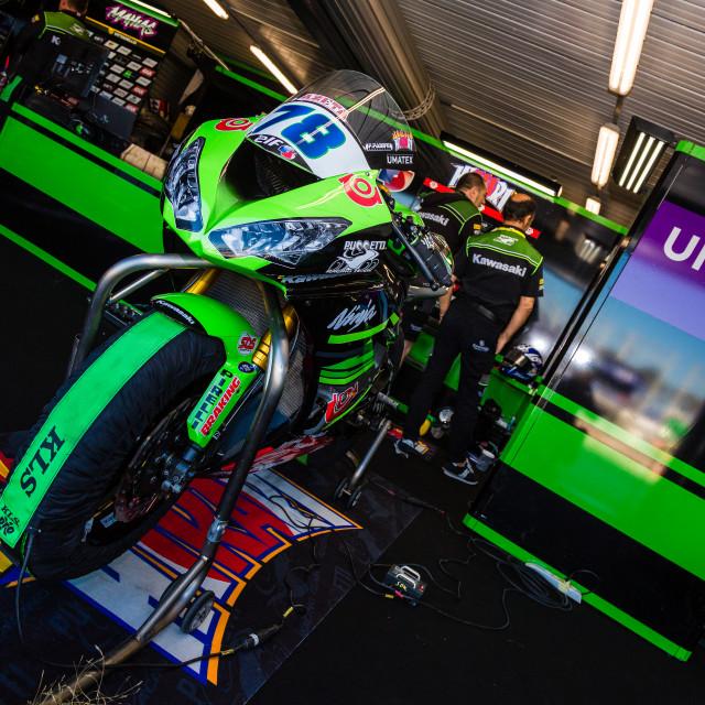 """2019 MOTUL FIM Superbike World Championship"" stock image"