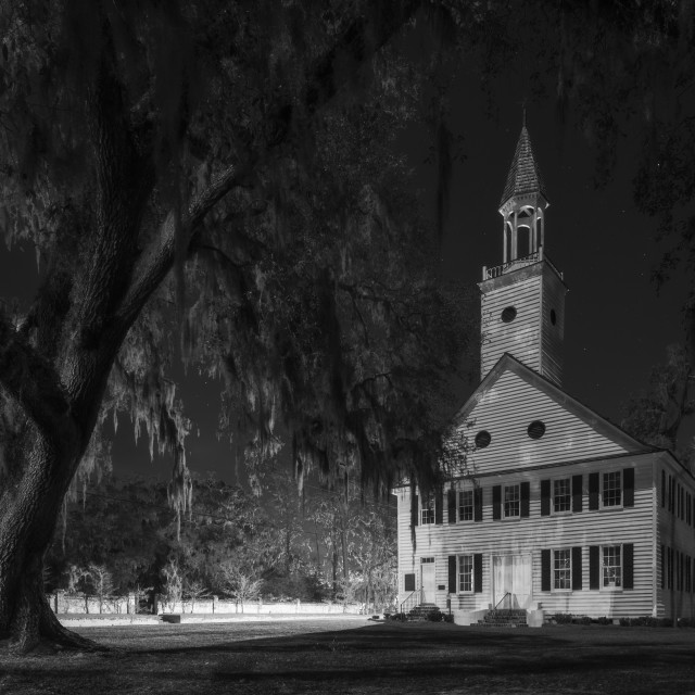 """""""Midway Congregational Church"""" stock image"""