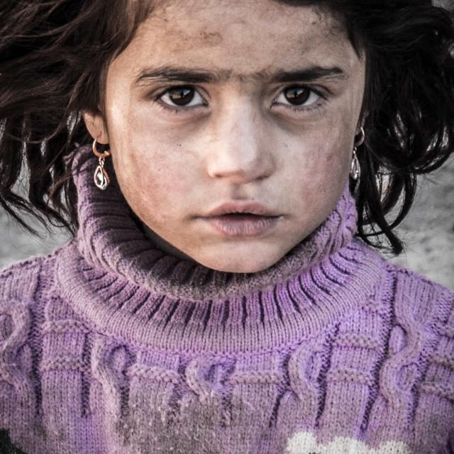 """Yaghnobi Girl"" stock image"