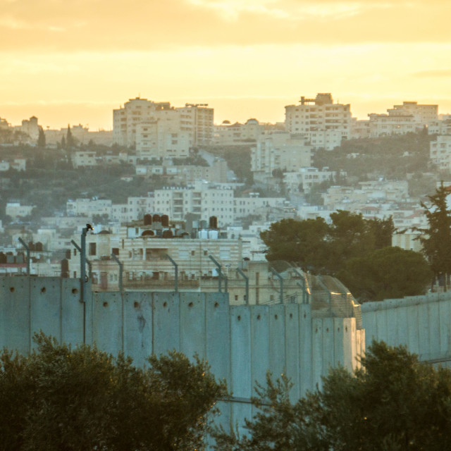 """""""Separation wall"""" stock image"""