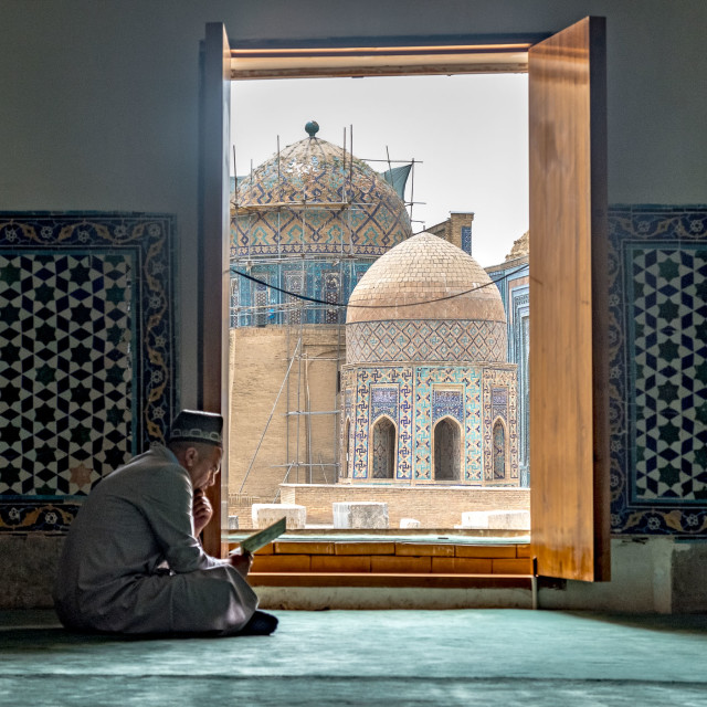 """""""Samarkandi man"""" stock image"""