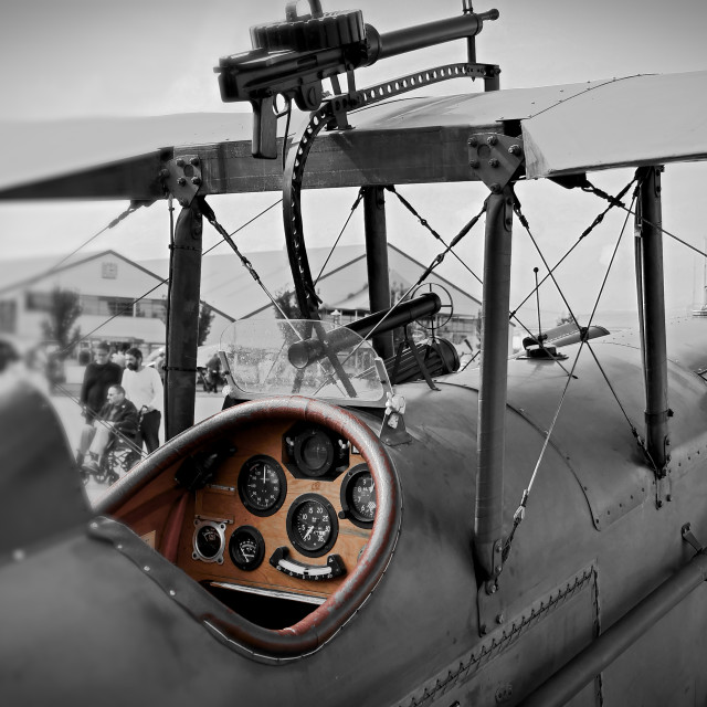 """Biplane"" stock image"