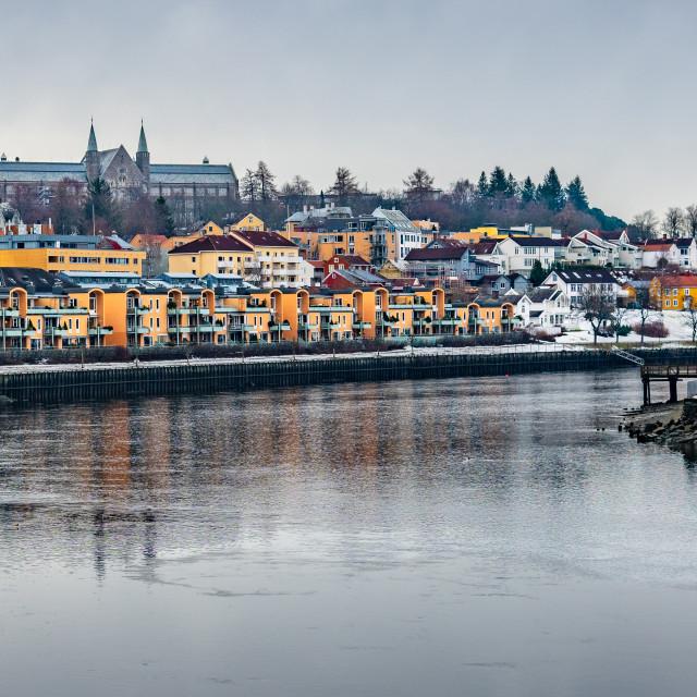 """Trondheim, Norway"" stock image"