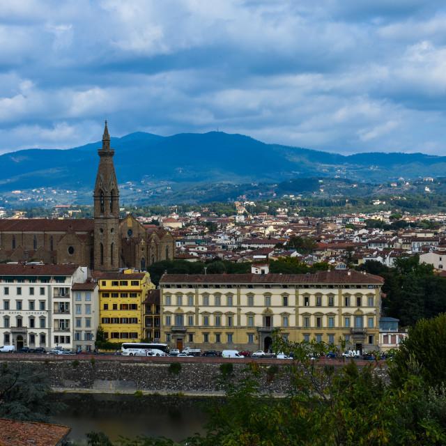 """Bibliotake Nazionale in Florence"" stock image"