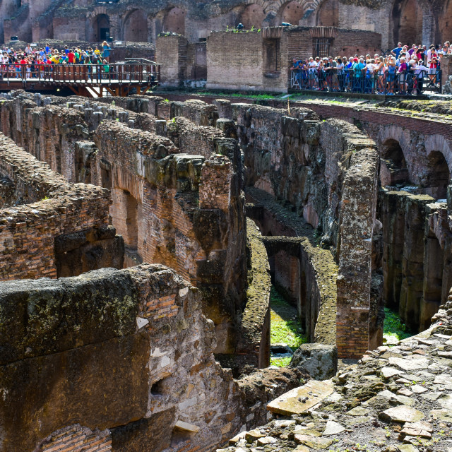 """Colloseum Passages"" stock image"