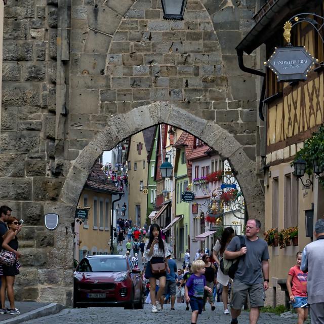 """""""Rothenburg Germany."""" stock image"""