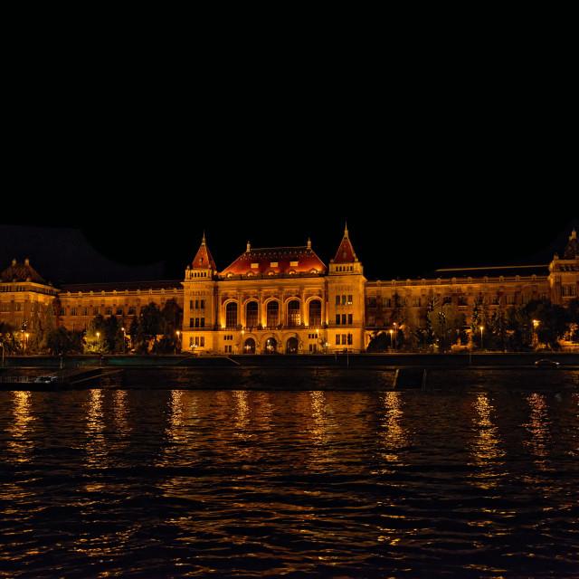 """""""Budapest University of Technology and Economics"""" stock image"""