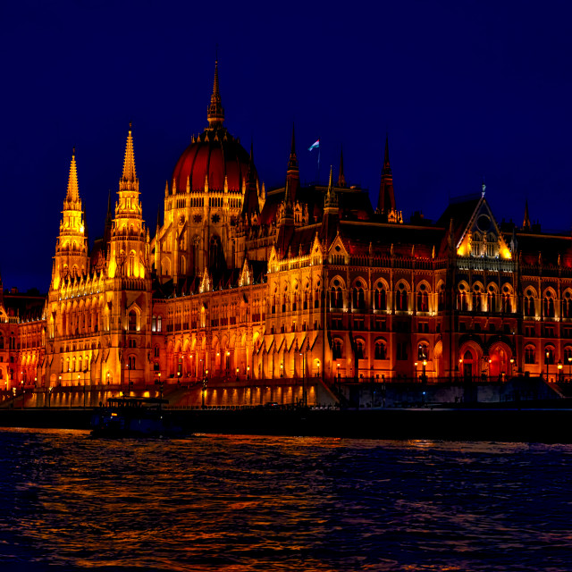 """""""Hungary's House of Parliament"""" stock image"""