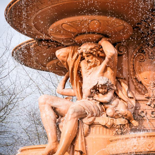 """""""Hubert Fountain"""" stock image"""