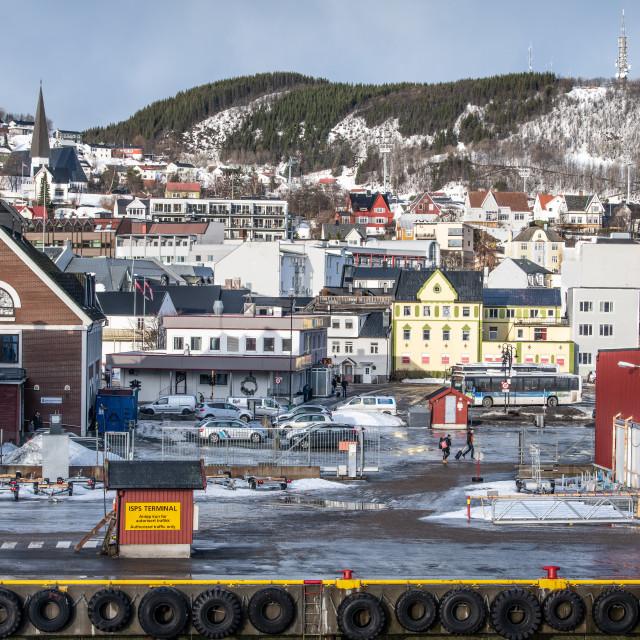 """Harstad, Norway"" stock image"