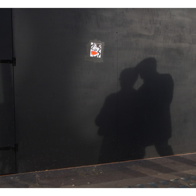 """London shadows"" stock image"
