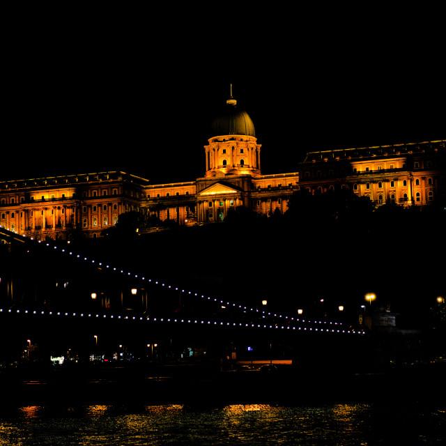"""Buda Castle"" stock image"